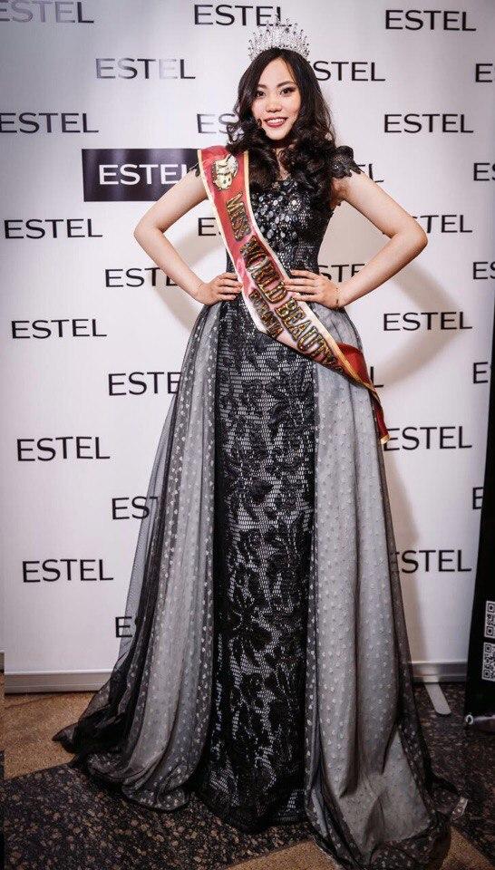 Уроженка из Вьетнама Y NA NGUYEN CAT TUONG ANH завоевала титул MISS WORLD BEAUTY 2017   Eurasia